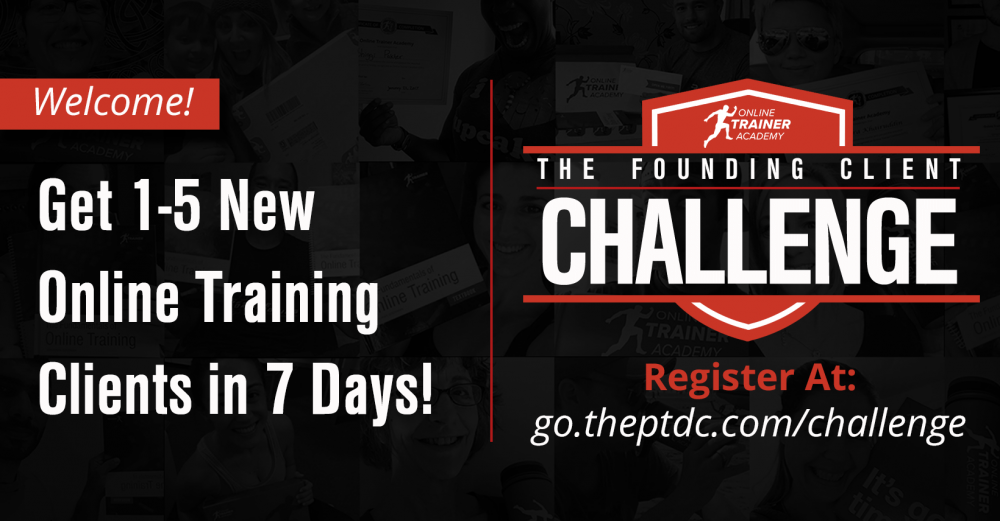 Founding Client Challenge at go.theptdc.com/challenge